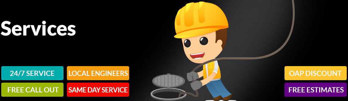 drain unblocking, cleaning & repairs